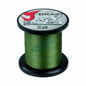 Plecionka Daiwa J-Braid x8 1500m 0,16mm