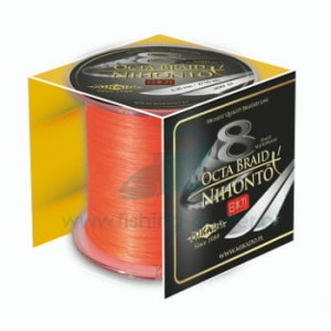 Plecionka Mikado Nihonto Octa Braid 050 Orange300m