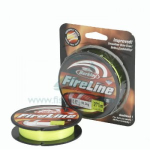PLECIONKA BERKLEY FIRELINE 0.12MM 270M F Green