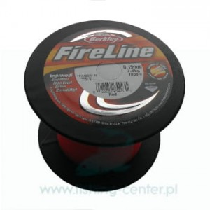 PLECIONKA BERKLEY FIRELINE 0.15mm 1800m RED